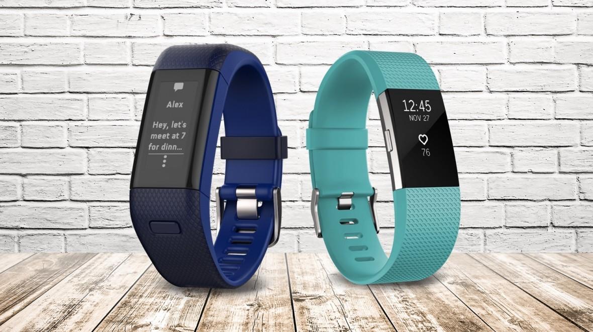 Una Comparación Fitbit Charger 2 y Garmin Vivosmart HR+