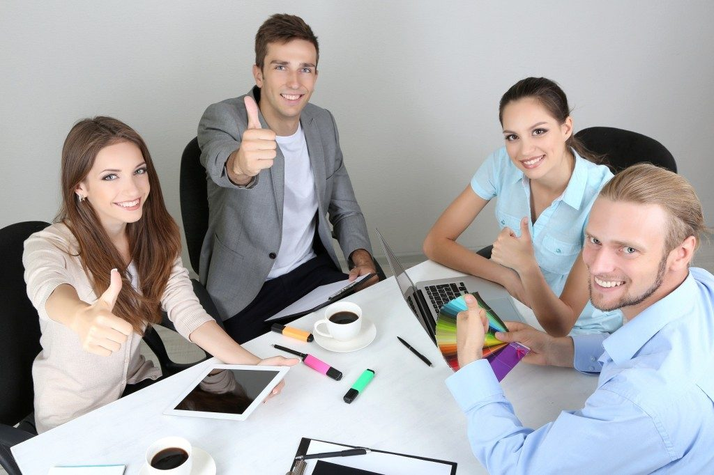 Desarrollo relaciones laborales positivas