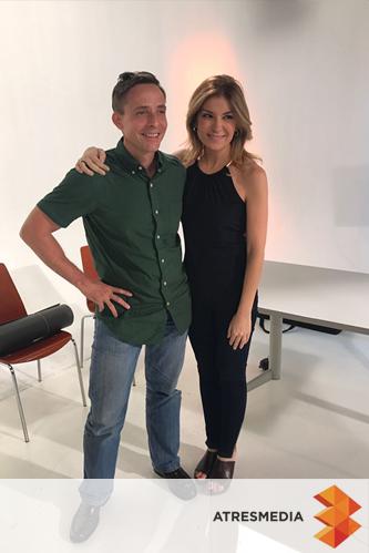 Sandra Golpe Atres Media y John English